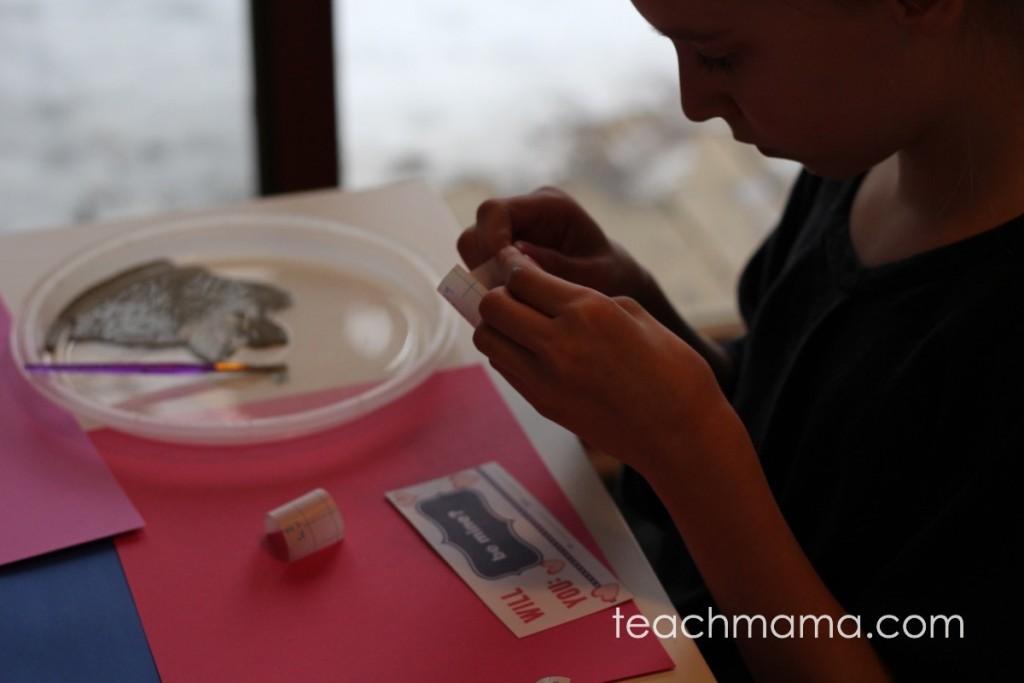 scratch off ticket valentines:  teachmama.com