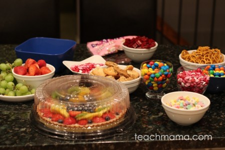 best bunco game night snack ideas | teachmama.com
