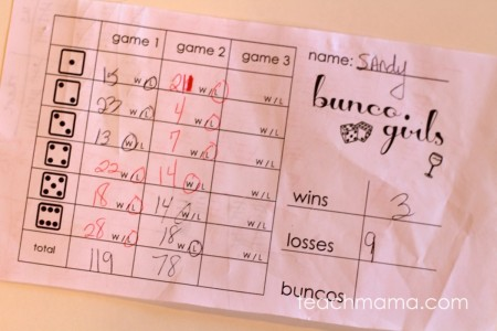 how to play bunco: teachmama.com