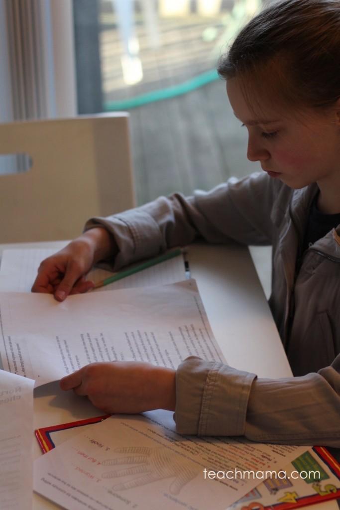 how to teach summary writing: the 1-hand summary | teachmama.com