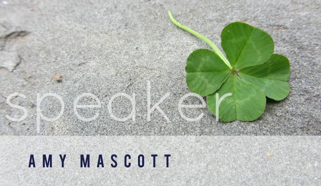 amy mascott | speaker