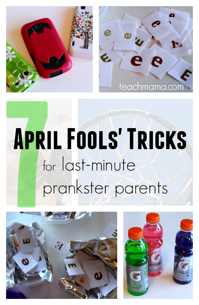 april fools' tricks for last-minute prankster parents teachmama