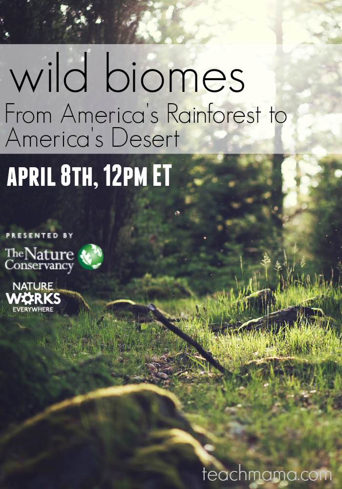 The Nature Conservancy virtual field trip and learning resources: Wild Biomes-- From America's Rainforest to America's Desert