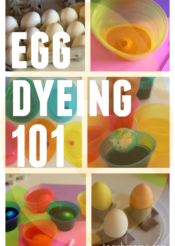 egg dyeing 101: making egg dyeing as mess-free, easy, and FUN as possible for families