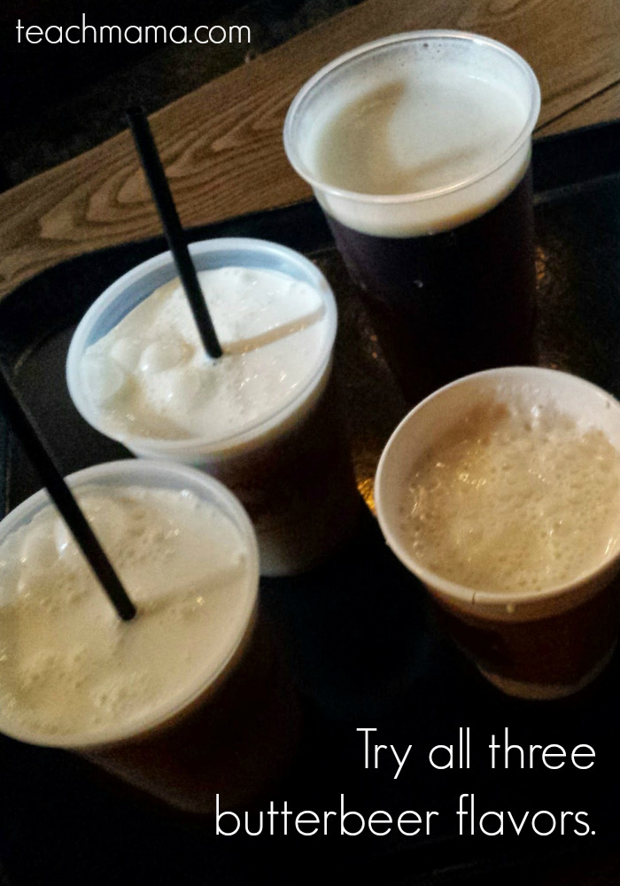 harry potter wizarding world butterbeer | teachmama.com