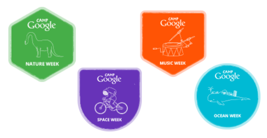camp google badges | teachmama.com