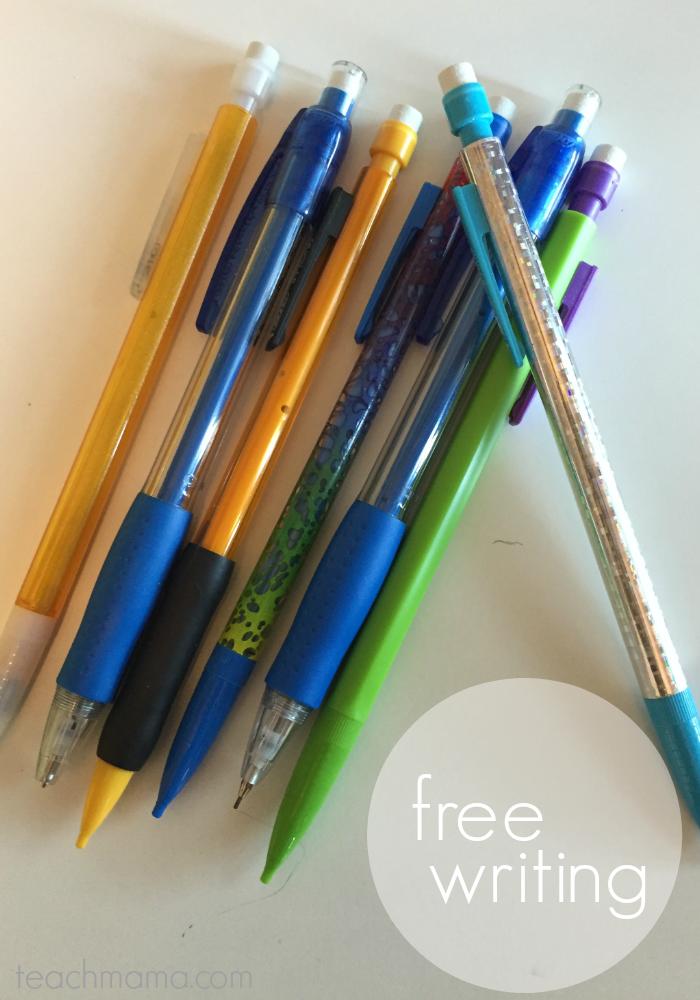 get kids writing | free | teachmama.com