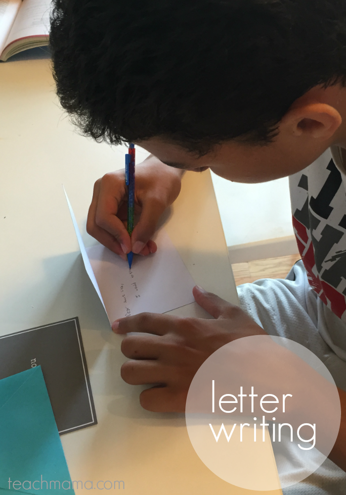 get kids writing | letter | teachmama.com