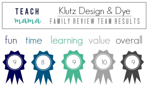 teach mama review award design dye