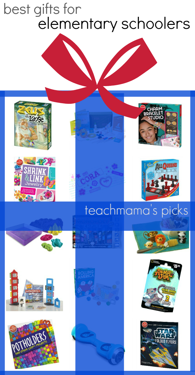 best gifts for elementary schoolers | teachmama's gift picks | must-have games for learning and fun
