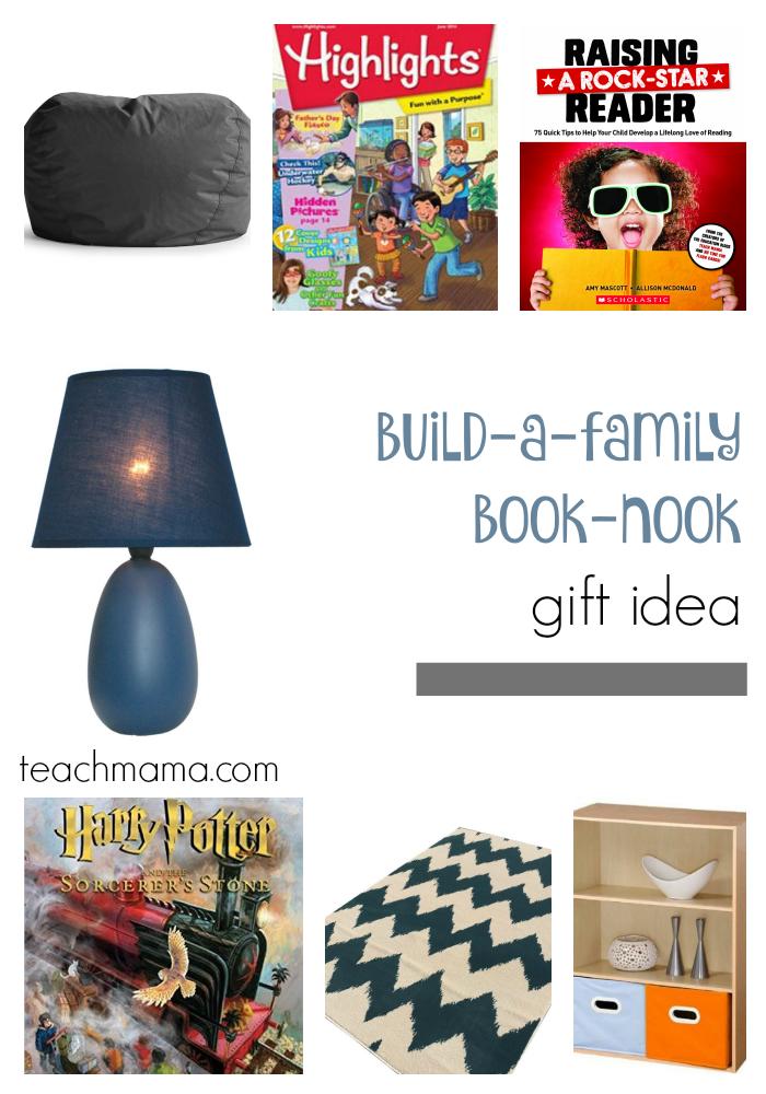 family book nook teafchmama.com