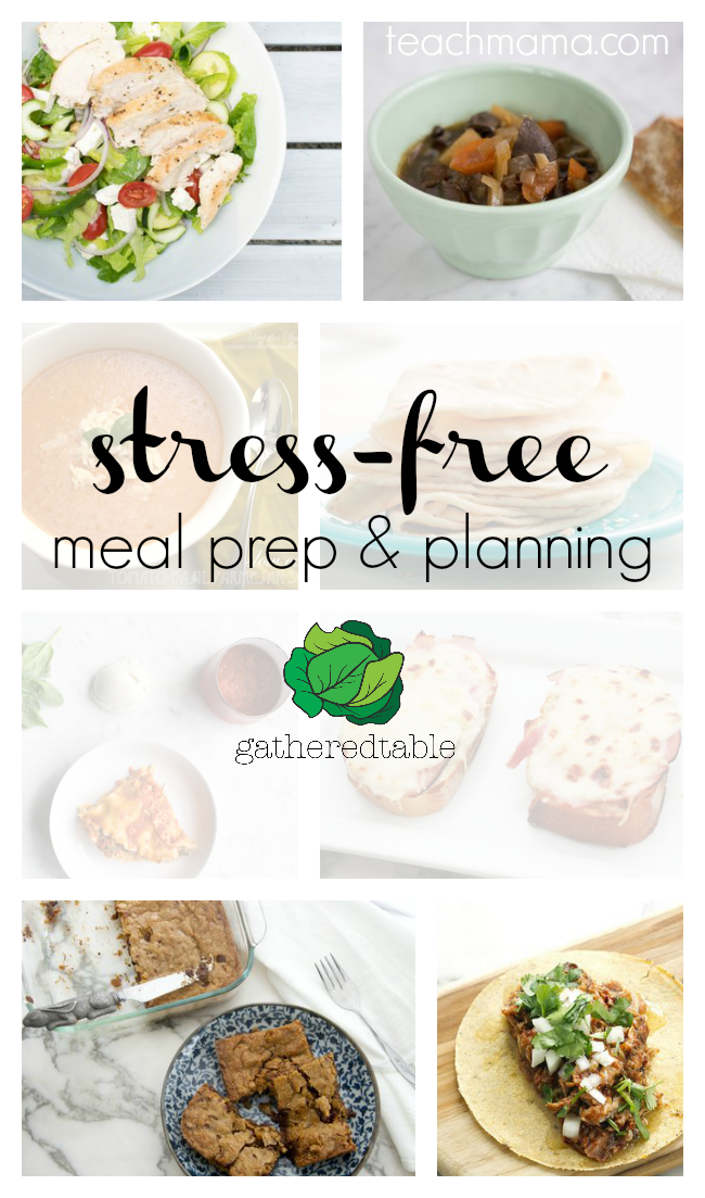 stress-free dinner prep and planning the happy family solution -- Gatheredtable teachmama.com