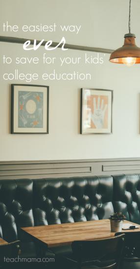 save for college | teachmama.com | upromise