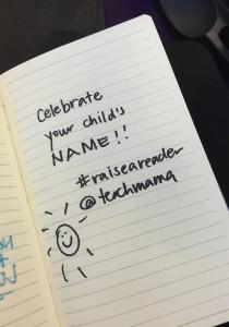reading tip 5: celebrate names | teachmama.com