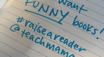 reading tip 6: laugh! #raiseareader