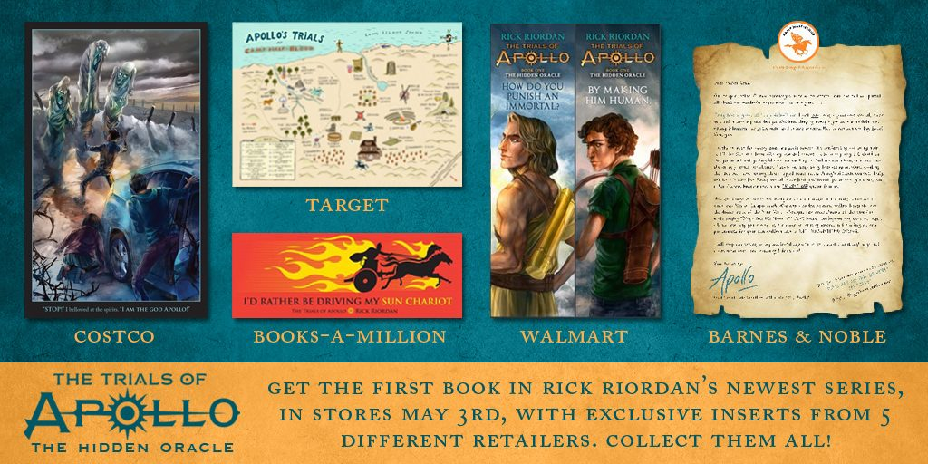 percy jackson fans: The Trials of Apollo is here! | teachmama.com