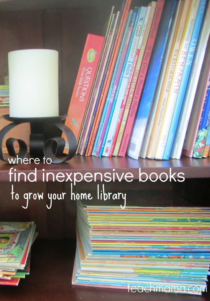 inexpensive books for home library teachmaam.com