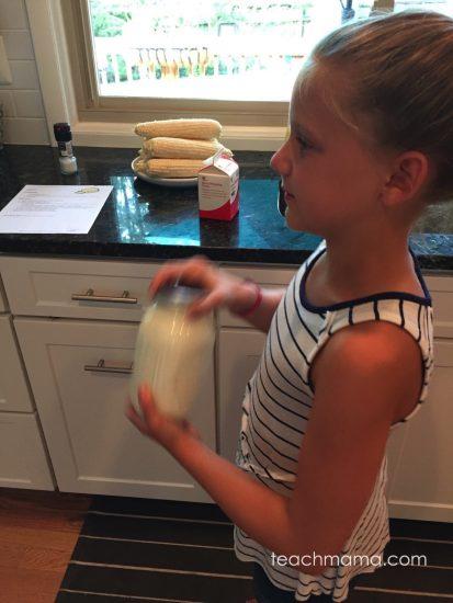 how to make homemade butter | teachmama.com