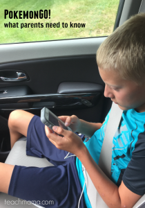pokemonGO what parents need to know | teachmama.com