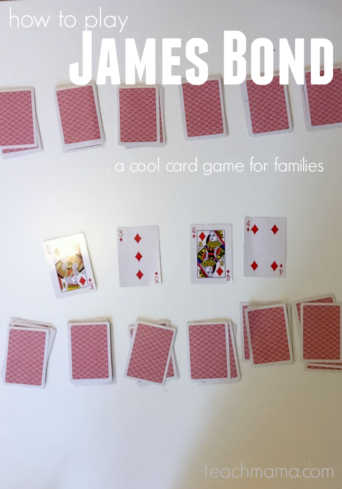 How To Play James Bond Fun Card Game For Familes By Cora