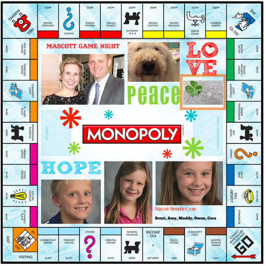 Personalized Board Games Scrabble And Monopoly 12 Days Of Smart
