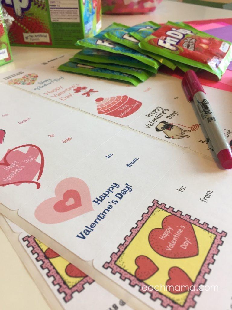 fun dip valentines | teachmama.com