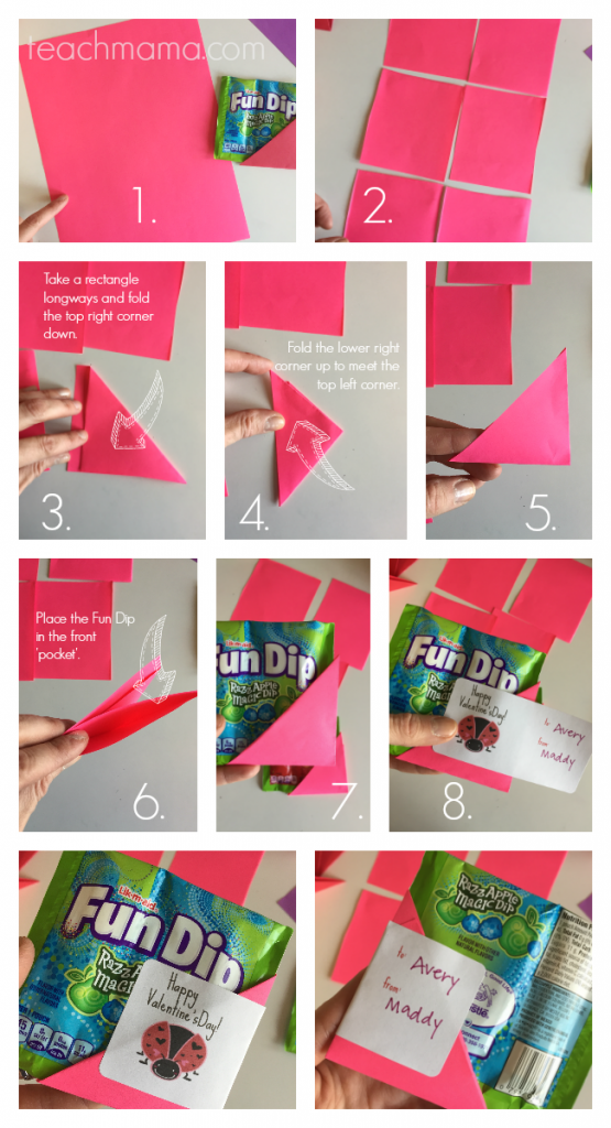 fun dip valentines | teachmama.com how to