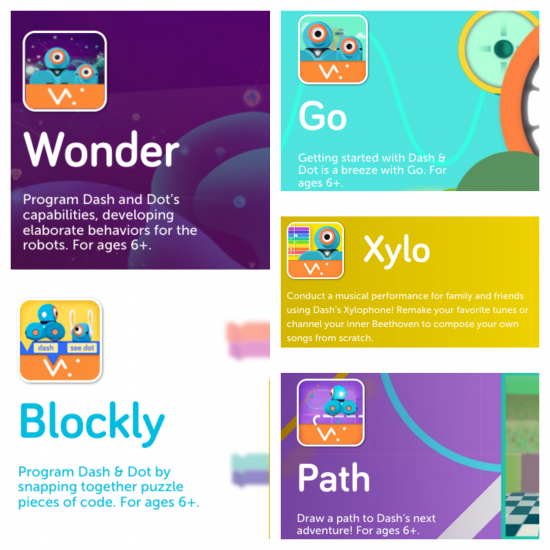 read and bring STEM to life with Dash and Dot robots meet apps | teachmama.com