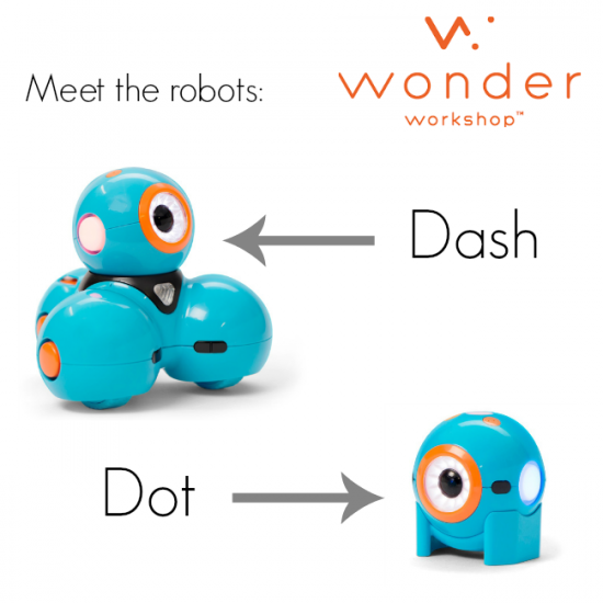 read and bring STEM to life with Dash and Dot robots meet robots | teachmama.com