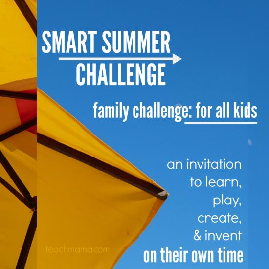 smart summer challenge family challenge promo teachmama.com
