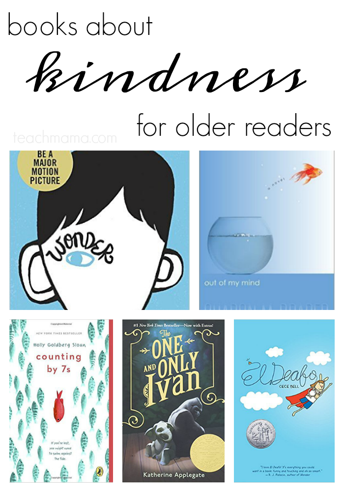 books about kindness older teachmama.com