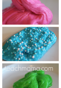 How to make fluffy slime and get your kids reading! | make floam slime | make glitter slime | make galaxy slime | slime flops | slime video | teachmama.com