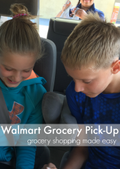 walmart grocery pick-up: grocery shopping made easy