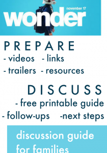 wonder movie discussion guide | teachmama.com