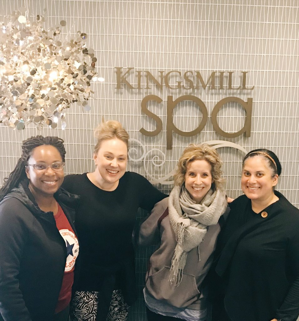 kingsmill resort for a girls' weekend getaway