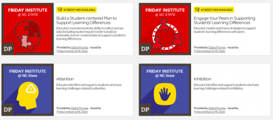 support your students' learning differences: micro-credentials for teachers