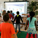 yoga brain breaks: use fitflow to teach kids yoga moves from fit4Schools   teachmama.com