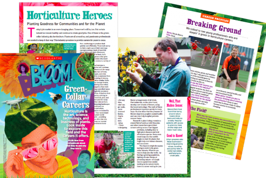 what your kids MUST know about plants magazine
