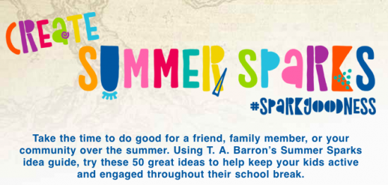 create summer sparks with everyday acts of kindness #sparkgoodness teachmama.com