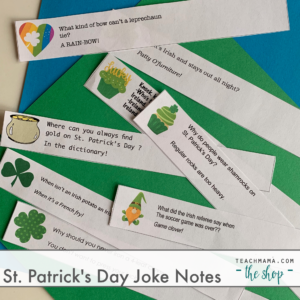 st patricks joke notes