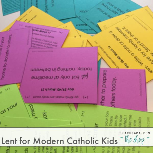 lent for modern catholic kids