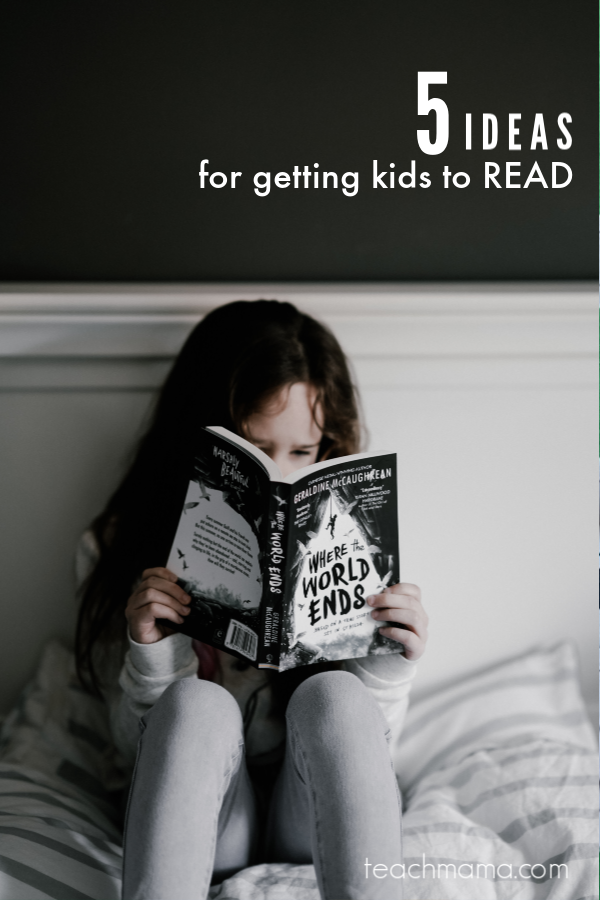 5 ideas for helping parents read with their kids: podcast
