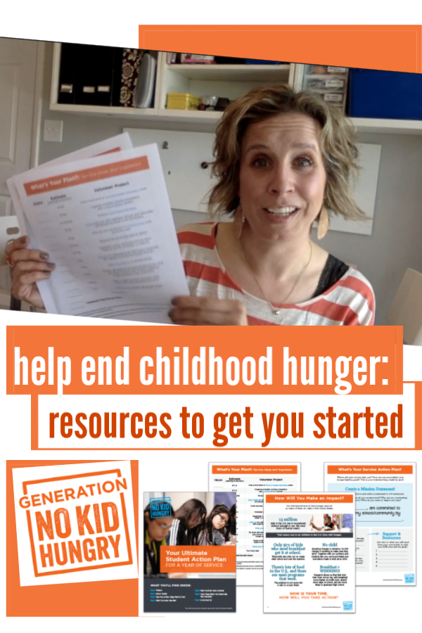help end childhood hunger: free resources to get started!