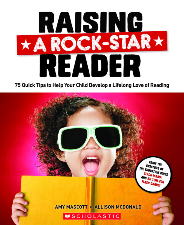cover of raising a rock-star reader
