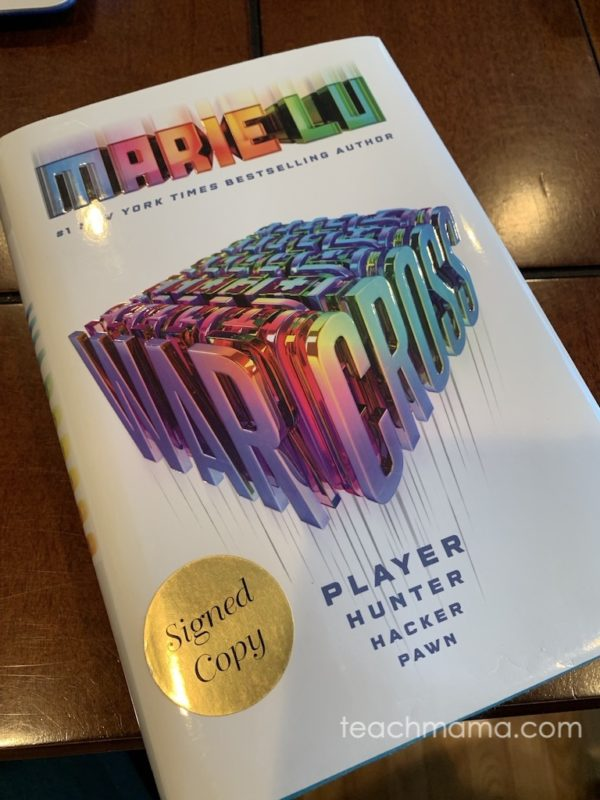 marie lu warcross book cover