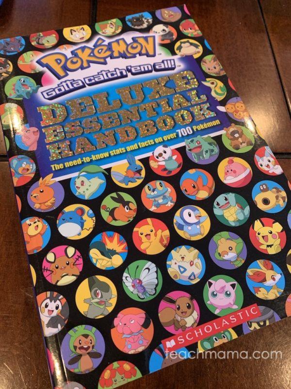 pokemon gamers deluxe handbook cover