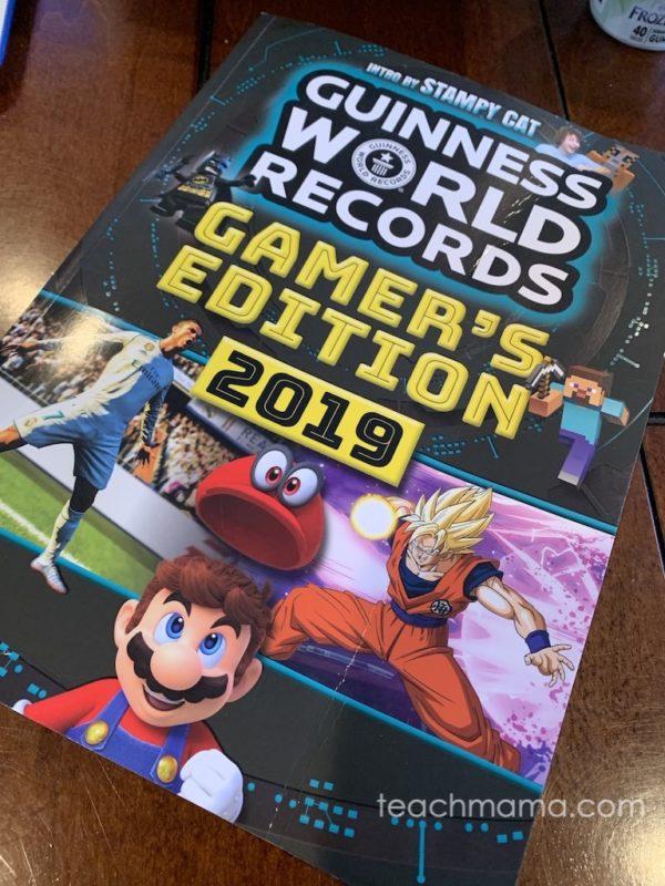 guinness world records gamer's guide cover