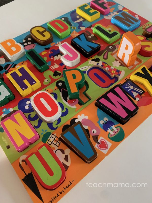 melissa and doug chunky abc puzzle