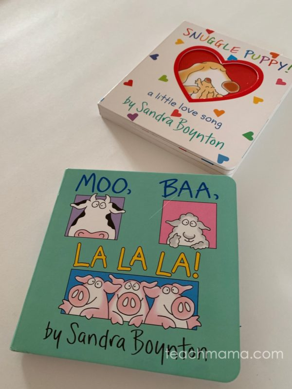 two board books for children