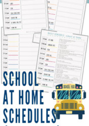 homeschooling schedule during coronavirus school closings